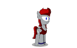 RedCord Pony- Vector by TakaraPOV