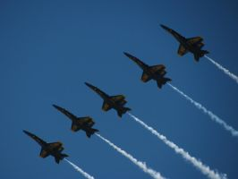 Blue Angels 19 by mystangelwingsstock