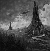 Druadan Forest by TheTrueMoonroot