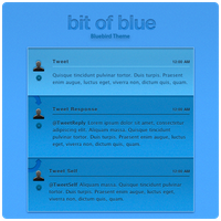 Bit of Blue - Bluebird Theme by planetperki