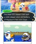 Gulliver's (Paper Mario 2) Bobbery Reference by GamerStunner27