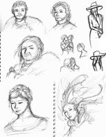 Sketchdump by dragonlover-samantha