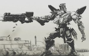 Mecha Combat 2 by dmaxcustom