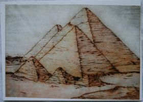 Pyramids of Giza 2 by BanderbearDesign