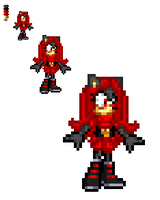 ::The NEW Black Rose sprite:: by TechnoGamerSpriter