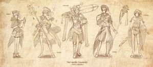 APH: Nordic Countries-RPG ver- by mandachan