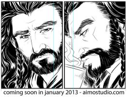 Untitled Comic Progress 3 by aimo