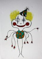 Marlon the clown by InsideTheMindOfPotzu