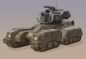 Sketching Technique: Tank by rickystinger88