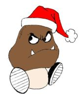 Christmas Goomba by IronOutlaw56