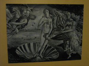 Recreation Birth of Venus