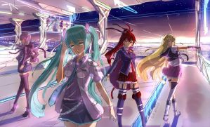 rough'vocaloid' by PenName-Kazeno