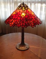 Fall Leaf Lamp by jofflin
