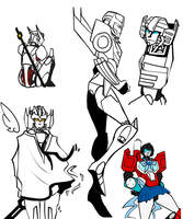 [TF] Doodles by KusuKitty