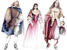 Tartuffe Costumes 1 by ScottAronow