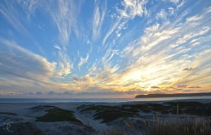 Coronado Beach Sunset by ShannonCPhotography