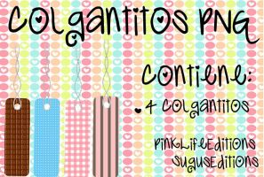 Colgantitos PNG by PinkLifeEditions