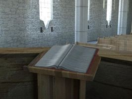 Cathedral - Pulpit (Day) by Arkensark