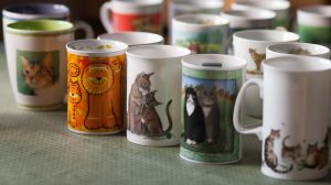 A view into my cat mugs by TomiTapio