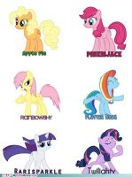 mlp mixed up!!! by BEDLAMRULES