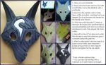 Kindred Mask from League of Legends - Tutorial by Embura