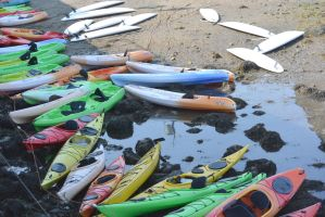 Water Toys, Kayaks and Paddle Boards by Miss-Tbones