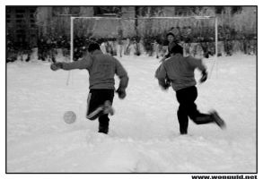 Snow Soccer by wolc