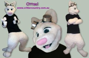 Ottsel Fursuit by ozkangaroo