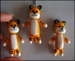 Hobbes Keychain by Oracle-of-Moon