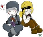 Chibi Climber and Karl by abaikgirl