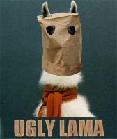 UGLY LAMA by rich-tedstone