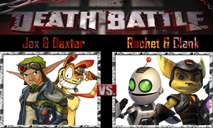 Jak and Daxter vs Ratchet and Clank by SonicPal