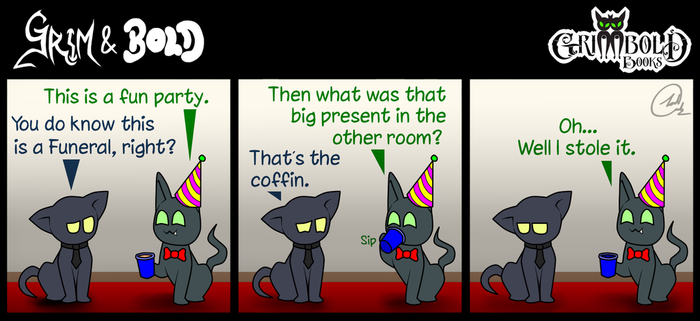 Grim and Bold COMIC 028 by JoshArtisticGenius