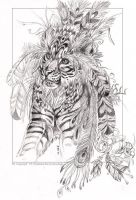 Tribal Tiger by balaa