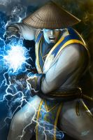 Raiden - God of thunder by JasonsimArt