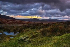 Wicklow sunset by Wanowicz