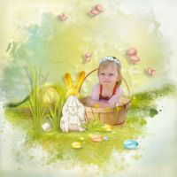 Spring Bunnies and Easter Stories By NLD by Altia13