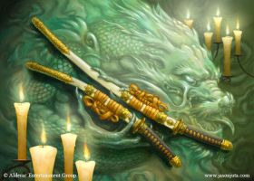 L5R CCG - Radiant Steel by jasonjuta