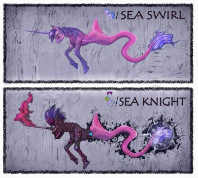 Sea Swirl/Knight by Miradge