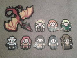 Perler Beads ::Desolation of Smaug:: by munch1111