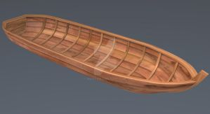 Wooden Boat by M4771