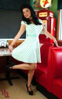 Rose Rocking the Pin-up Look 2 by RocketQueenImaging