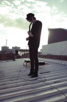 Rooftop Jam 1 by RonderfulRonnie