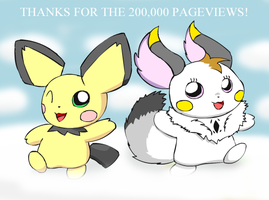 Thanks for the 200K by pichu90