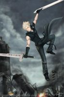 Cloud Strife by Kay-Wan