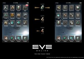 EVE Online iPod touch theme by ThunderBreak