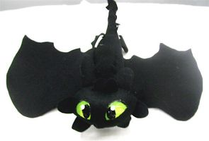 Toothless Plushie by Caranth
