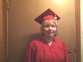 Happy 11th month anniversary's and I graduated by BlackCherry1994