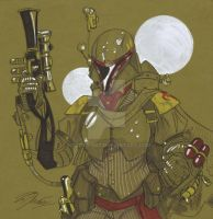 Steampunk Boba Fett by Hodges-Art