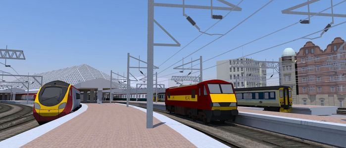SketchUp Pendolino Train 2 by ANDY1701A